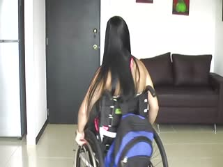 Theres something about Cleopatra ( paraplegic woman)