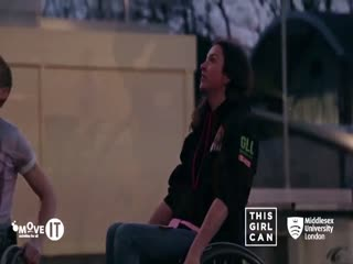 This Girl Can - Wheelchair Basketball Player
